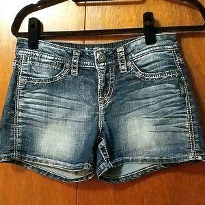 Silver Jeans Denim Shorts 28